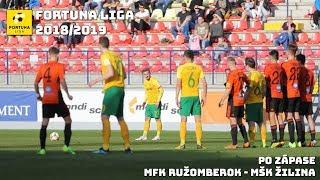 e3388b7ab Tlačová konferencia po zápase MFK Ružomberok - MŠK Žilina