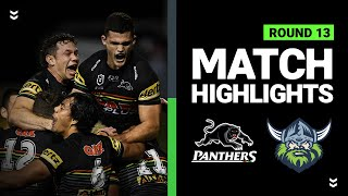 Panthers v Raiders | Round 13 2020 | Telstra Premiership | NRL