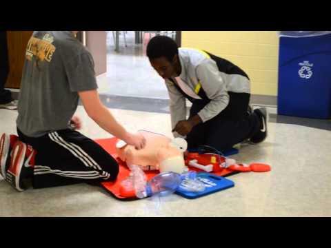 CPR Training: Tech High School