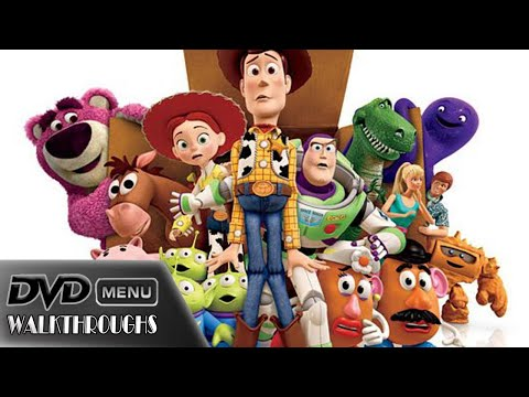 Toy Story 3 (2010) DvD Menu Walkthrough