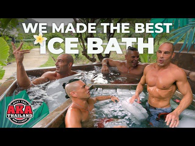 Our Brand New Tropical Ice Bath (it's AMAZING!) | AKA Thailand