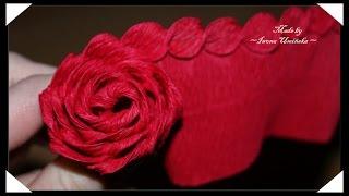 Изготовление цветов из гофрированной бумаги(Хотите сделать цветы их гофрированной бумаги? Предлагаю сделать красивые розы или даже букет роз! Как сдела..., 2014-08-03T13:29:23.000Z)