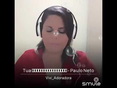 Viviane Medeiros Cover Paulo NetoTua Presença 🎤