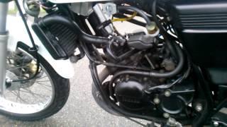 YAMAHA RZ50 エンジン始動 純正チャンバー