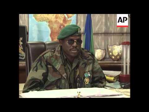 Sierra Leone - Coup leader Johnny Koroma