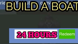 NEW CODE!! | Build a boat for treasure (roblox)