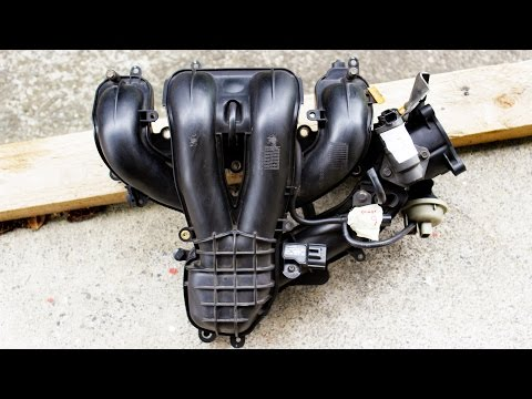 How to: Remove intake manifold Ford Duratec HE (Mondeo, Focus) / Mazda LF