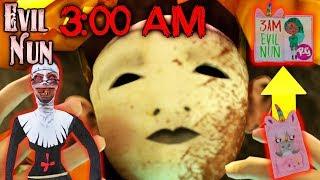 Последние Секретные Пасхалки Монахини! В 3:00 Ночи Монахиня! - Evil Nun 1.2.3   Монахиня