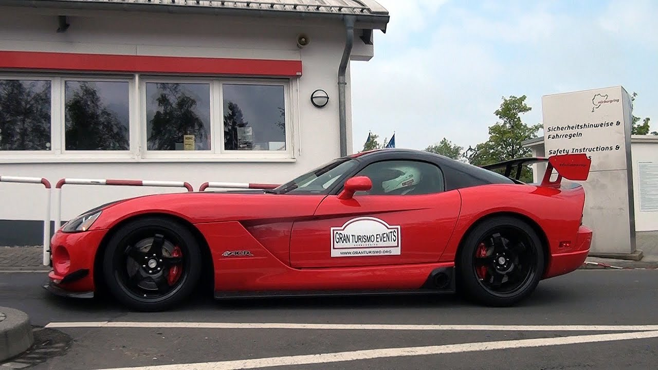Dodge Viper SRT-10 ACR Hennessey Venom sound!! - YouTube