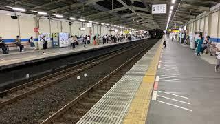 【ホリデー快速鎌倉】南越谷駅到着E257系500番台(NB12編成)