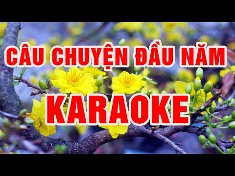 Câu Chuyện Đầu Năm || Karaoke beat chuẩn 2018 || Nhạc Sống Thanh Ngân