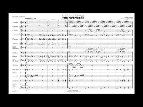 The Avengers by Alan Silvestri/arr. Brown & Rapp