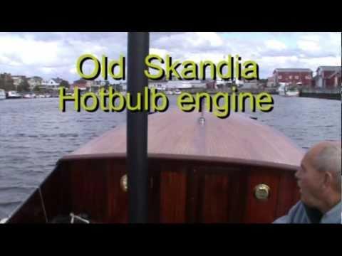 Skandia 13A Hotbulb engine