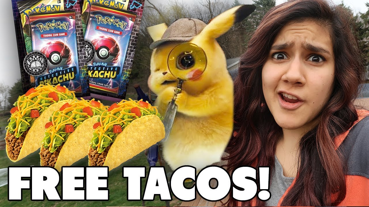 Detective Pikachu Bought Me Tacos 7 Eleven Pokemon Card Hunt