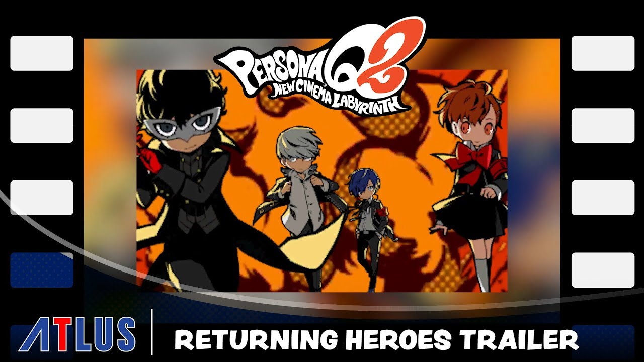 Persona Q2: New Cinema Labyrinth Will Have A Whopping 27