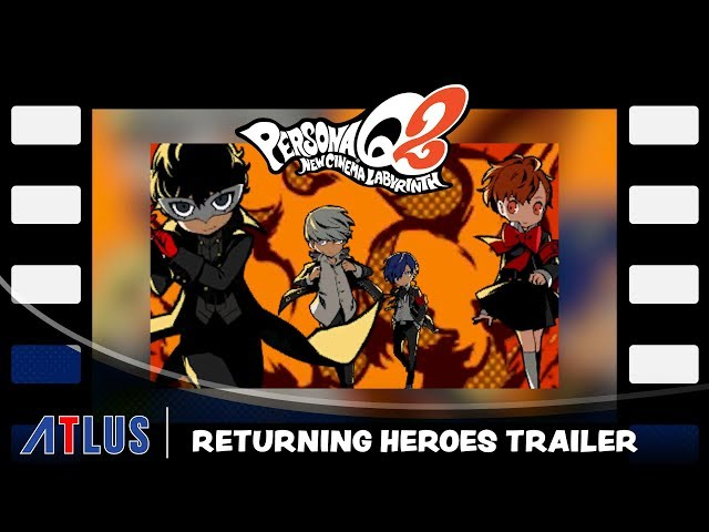 Persona Q2: New Cinema Labyrinth will have 27 pieces of DLC