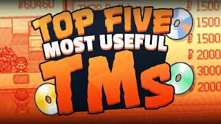 Top 5 Most Useful TMs in Pokémon w/ Supra!