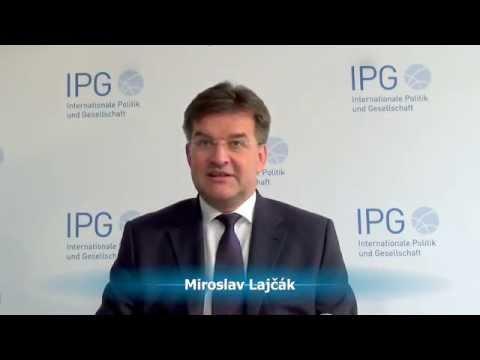 Miroslav Lajčák über die Beziehungen zu Russland.