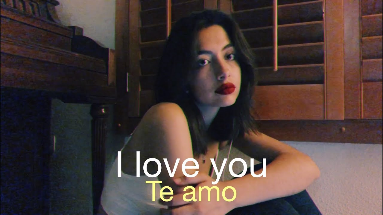 I Love You Billie Eilish Cover In Spanish Cover En Español Youtube