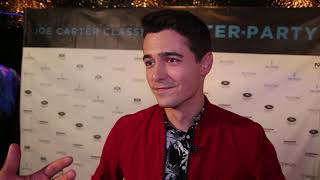 Chat W Cineplex Pre Show Host Tanner Zipchen At 10th Annual Joe Carter Classic Fundraiser