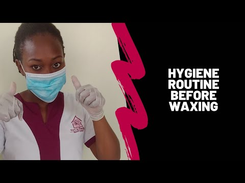 At-home spa | How I get ready before I wax my clients