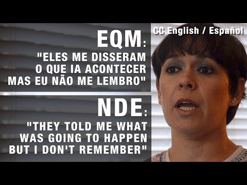 EQM | NDE - eles me contaram | they told me
