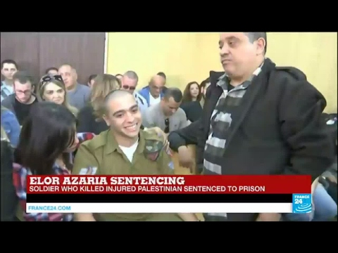 Israel: Soldier sentenced to 18 months in prison for fatal shooting of wounded Palestinian attacked
