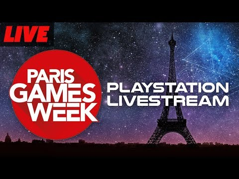 Sony Press Conference Paris Games Week with Pre and Post Show
