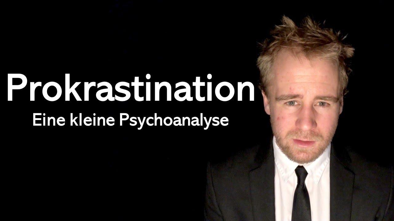 Prokrastination und Konflikt