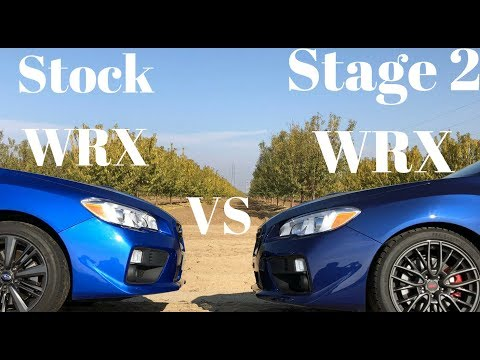 2015-18 Stock Subaru WRX vs Stage 2 WRX: $1,000 STI Killer???!!?