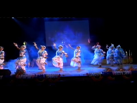 Saraswati Vandana dance performance by the students of KV Berhampore ECHO