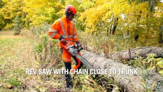 How to check chain lubrication is working on your chainsaw