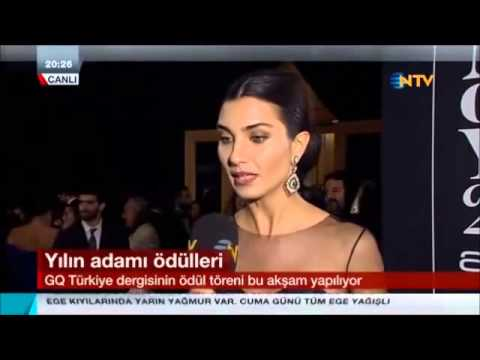 Tuba Reportage GQ Turkey Awards (Arabic Subtitle )