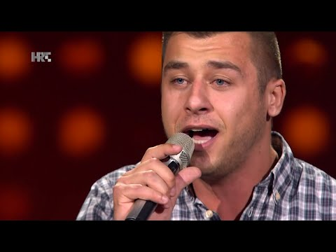 "Alen Đuras: ""Thinking Out Loud"" - The Voice of Croatia - Season2 - Blind Auditions3"