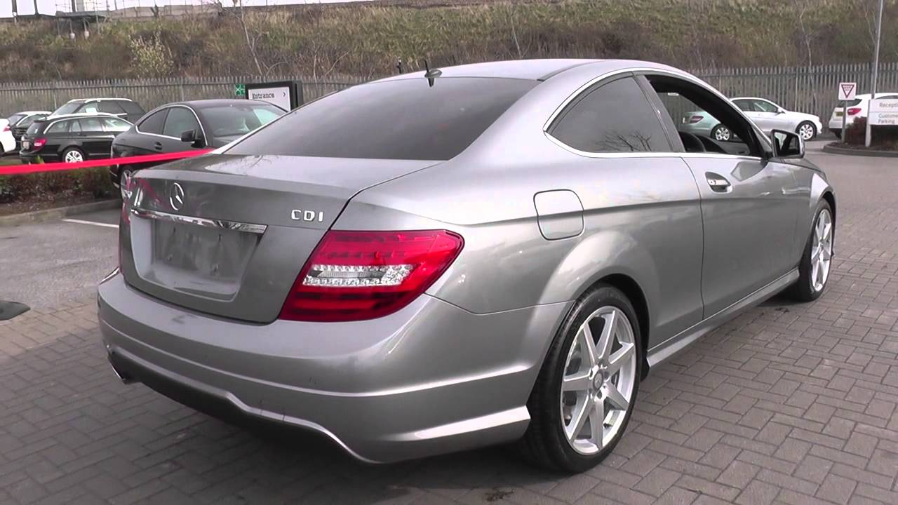 mercedes benz c class coupe c250 cdi amg sport u21247 youtube. Black Bedroom Furniture Sets. Home Design Ideas