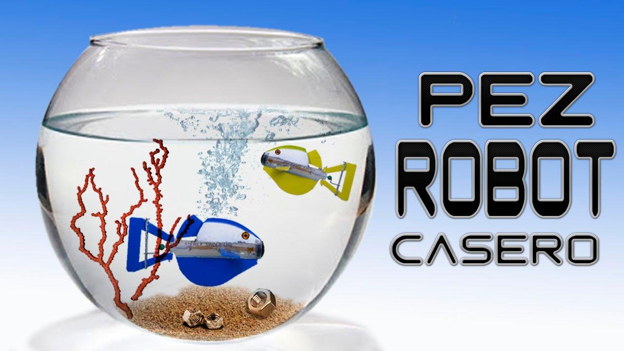 Como hacer un pez robot casero sin usar pilas youtube for Como hacer un criadero de peces casero