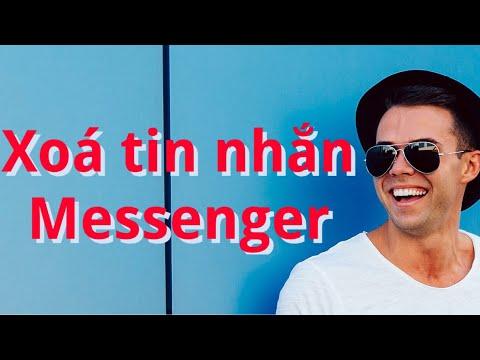 Hướng dẫn cách xoá tin nhắn trên messenger