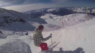 Alpe d'Huez 2016 - The Champagne Run - Tunnel, Dome, Les Rousses, Chalet, Fare
