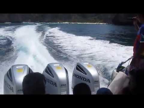 Honda BF 250 VTEC test motoscafo 750 cv