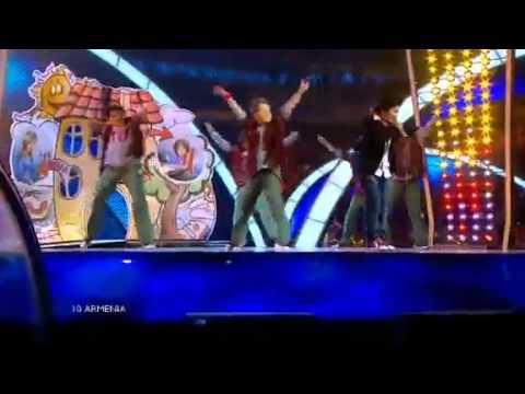 Детское Евровидение-2010  Армения - Владимир Арзуманян.mp4