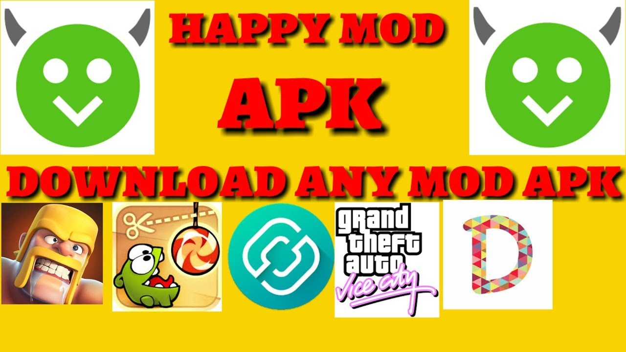 how to download any mod apk for free  happy mod apk  100% real