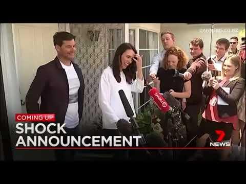 Compilation: Jacinda Ardern's baby news hits the headlines worldwide