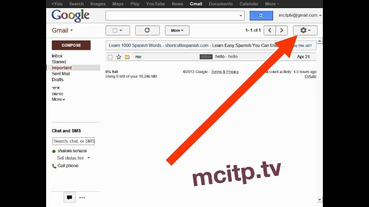 Gmail theme high score - How To Change Gmail Theme To High Score