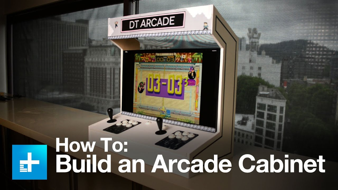 How to build an Arcade Cabinet - YouTube