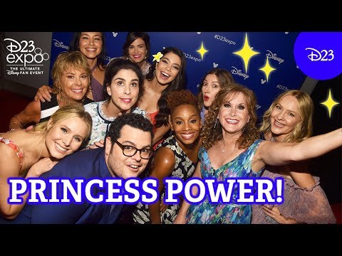 The Power of the Princess Panel  D23 Expo 2017 Highlights