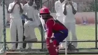 RCB Sarfaraz khan playing upper cut in net practices