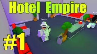 Hole in the Wall! Hotel Empire Ep1 - ROBLOX
