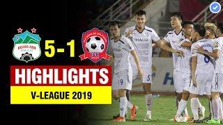 Highlights HAGL 5-1 Hải Phòng | Minh Vương hóa Messi ghi hattrick & màn bứt tốc điên rồ của Văn Toàn