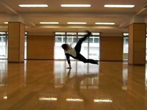 鳥取大学のB-BOY・パワームーブ練習パート1