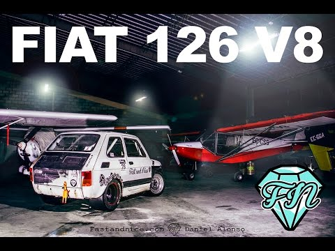 FAST AND NICE - FIAT 126 V8  OFICIAL